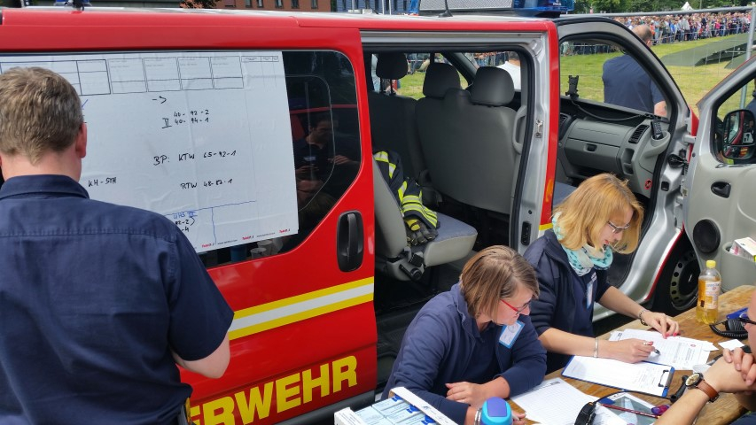 Verwaltung der Rettungsmittel
